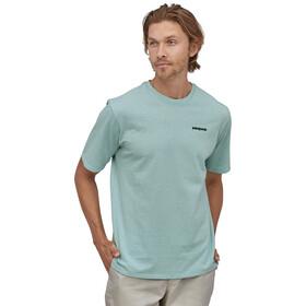 Patagonia P-6 Logo Responsibili-Tee maglietta Uomo, turchese